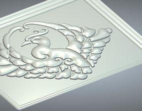 3D model animal relief 3