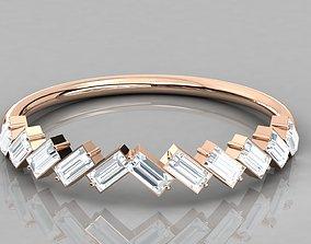 Women ring 3dm stl render detail brilliant diamond-ring