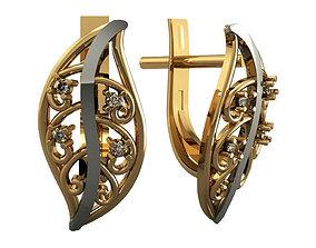 3D printable model Earrings 907