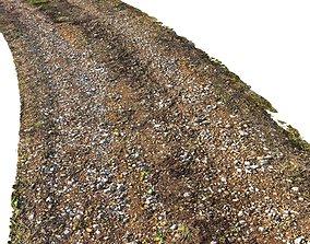 3D model Dirt road material 03