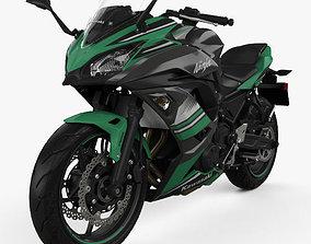 Kawasaki Ninja 650 2017 3D