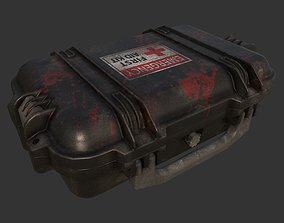 First Aid Kit Military Case 3D asset