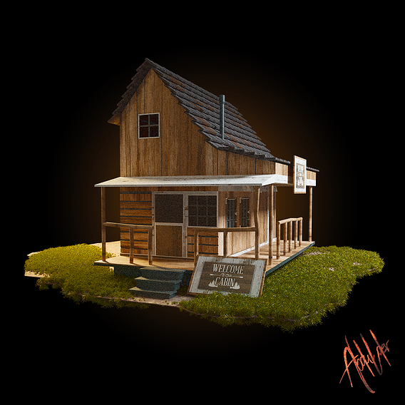 Cabin in The Wood