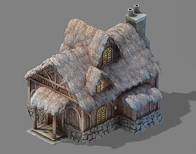 Game Glacier Ancient Land - Snowy Residence 01 3D model