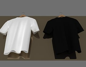 tshirt 3D model folded