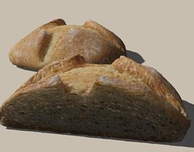 3D Realistic Bread