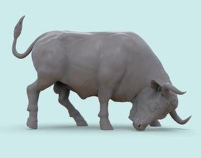 buffalo 3D print model Bull on the Corrida