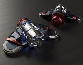 3D print model Spiderman PS4 Concussive Web Shooter