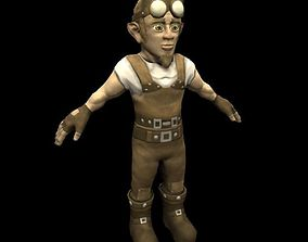 3D model Gnome Engineer