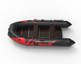 Inflatable Boat action 3D
