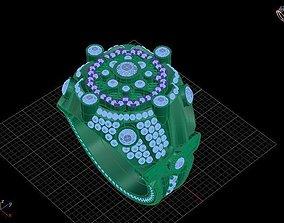 Ring 3D print model super gam ring
