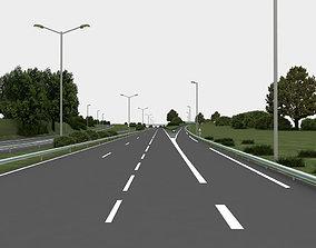 map city highway navigation 3D road