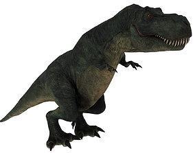 3D asset animated Tyrannosaurus rex