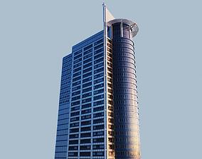 Highrise building - Chevron House 3D asset
