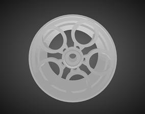 Rotiform ZRH rims for Hot Wheels 3D print