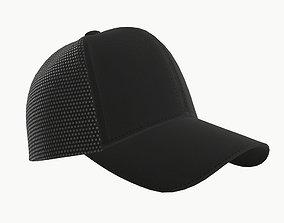 baseball cap 3D model PBR