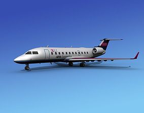 Canadair CRJ200 Ibex Airlines 3D model