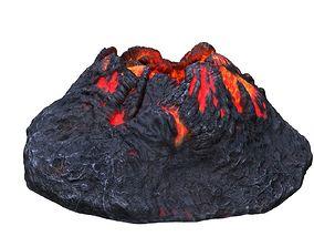 3D asset Crater HD