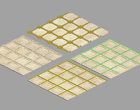 3D model Palace - parquet