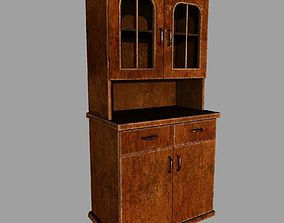 Old Cupboard 3D model low-poly