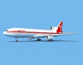 3D Lockheed L-1011 TriStar Aero Peru