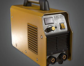 Electric Welder TLS - PBR Game Ready 3D asset