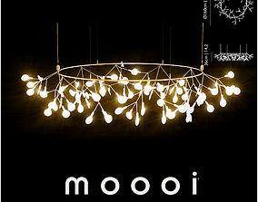 Moooi Heracleum small Big O ceiling 3D model