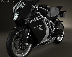 3D model KTM 1190 RC8 R 2012