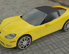 3D model Chevrolet Corvette C6 Coupe