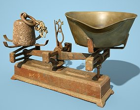 3D asset Old Rusty Scale 1