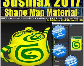 3ds max 2017 Shape Map vol 59 MP4