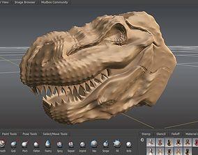 3D model T-Rex lizard