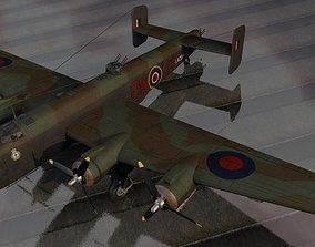 3D Handley Page Halifax Mk-3