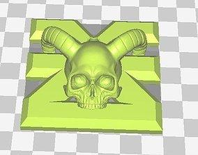 Mark of chaos pendant 3D printable model