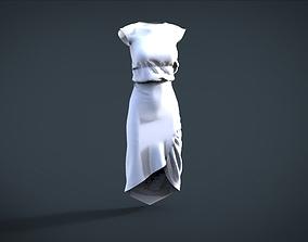 simple female cloth 3D