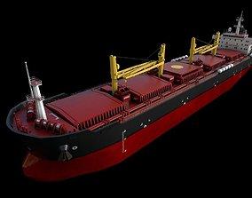 3D asset Bulk carrier 01