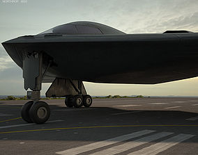 Northrop B-2 Spirit 3D