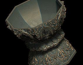 The Cup Thai Pattern 2 - 3D Print Model