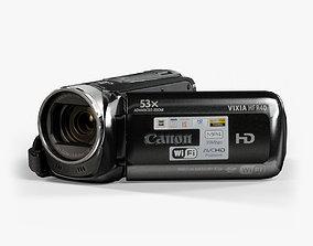 3D asset Canon Vixia HF R40 camcorder