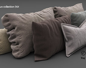 Pillows collection 101 3D model