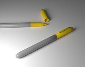 3D model Yellow Marker