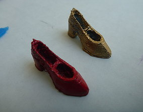 Cute Girl Shoe Easy Print