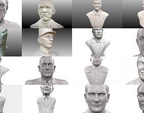 Political portraits mega pack 1 3D model