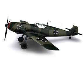 Messerschmitt BF109-E3 Emil 3D model