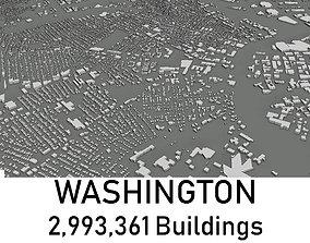 Washington - 2993361 3D Buildings VR / AR ready