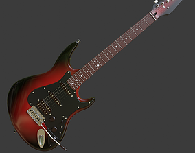 Electric guitar v2 3D