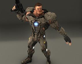 3D asset ciber suit 2