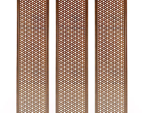 Decorative lattice details 3D