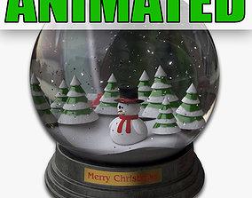Snowglobe Animated 3D