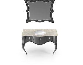 3D Toilet table art
